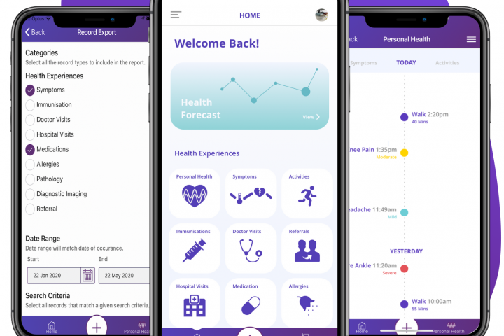 Wanngi Health Management App