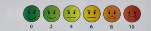 pain scale faces