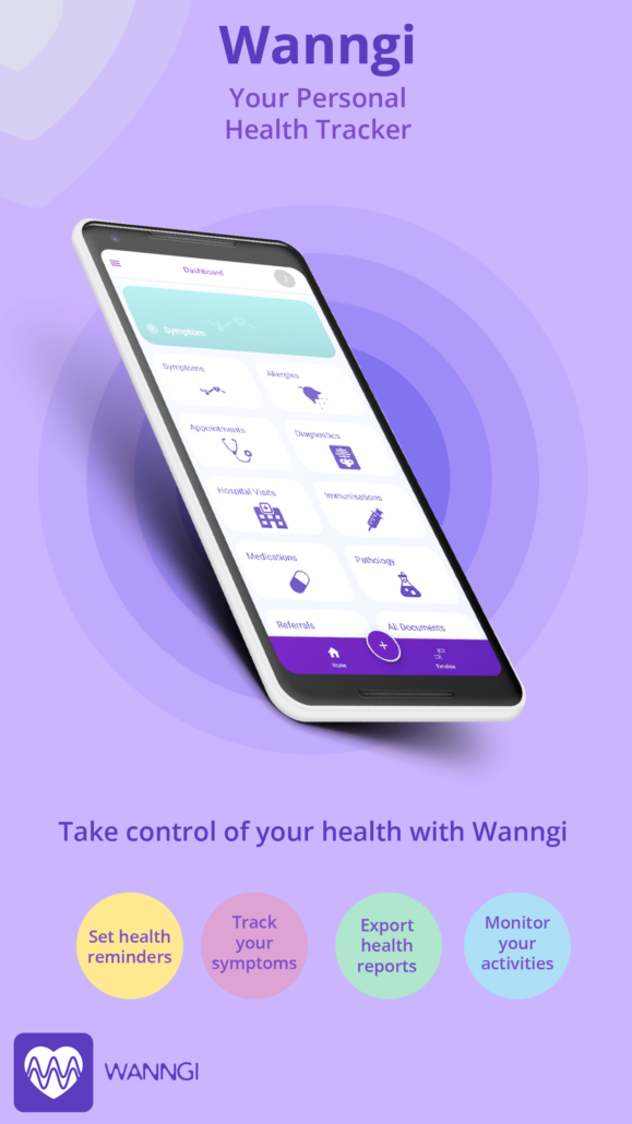 Wanngi Home Screen